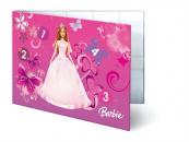 Desky na číslice Barbie