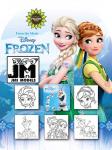 Razítka 5+1 Frozen - Ledové království