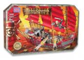 Mega Bloks Piráti z Karibiku 3-Loď císařovny