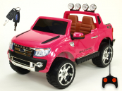 Elektrické auto Ford Ranger LUX s DO licence-růžový