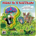 Pěnové puzzle - knížka Krtek