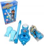 Dětský mikrofon se stojánkem modrý karaoke