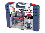 Dětské nářadí v kufříku a pracovní stůl