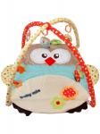 Hrací deka s hrazdou sova