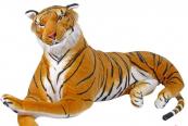 Plyšový Tygr ležící oranžový