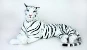 Tygr bílý ležící