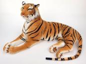 Tygr oranžový ležící