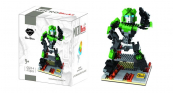 GEM Transformer Green Robot