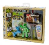 StikBot sada figurka + zvířátko + stativ