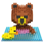GEM Mini Blocks Medvídek s kačenkou