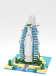 Diamond Blocks Burj-Al Arab Hotel