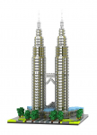 Diamond Blocks New York Petronas Twin Towers