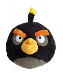 Plyšový Angry Birds - černý