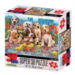 Puzzle Psi 3D 48 dílků