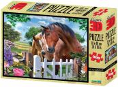 Puzzle Koně 3D 500 dílků