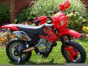 Elektrická motorka CROSSKA - červená
