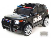 Elektrické auto Džíp USA policie černý