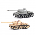 RC 2 bojové tanky na dálkové ovládání