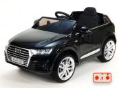 Elektrické auto Audi Q7  NEW s 2,4G DO černá metalíza