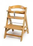 Dětská jídelní židlička dřevěná Alpha