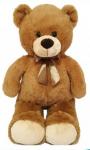 Plyšový medvěd s mašlí 90 cm
