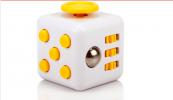 Fidget Cube - bílá