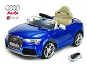 Elektrické auto Audi RS5 s 2,4G DO modrá metalíza