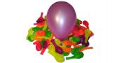 Nafukovací balónky - barevné florescentní - sada 11 ks (mix barev)