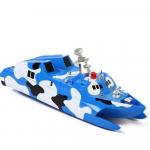 RC Loď Missile Boat