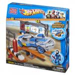 Mega Bloks Micro Hot Wheels Pit Stop