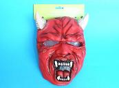 Maska karnevalová - Čert gumová