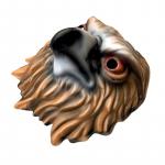 Maska karnevalová - Orel