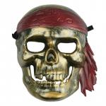 Maska karnevalová - Pirát lebka
