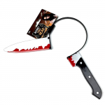 Zapíchnutý nůž na čelence