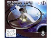 Létající UFO 15cm se senzorem, červené