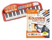 Kouzelné čtení - Kouzelné hudební nástroje Piano a bubny