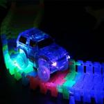 Variabilní svítící autodráha 220 dílů