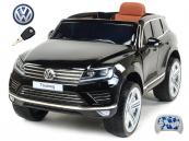 Elektrické auto Volkswagen Touareg s 2.4G DO černé
