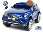 Elektrické auto Volkswagen Touareg s 2.4G DO modré