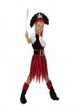 Pirátka - dětský kostým se sukní