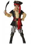 Pirát - karnevalový kostým s kloboukem