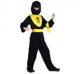 Ninja žlutý - dětský kostým