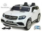Elektrické auto Mercedes GLS63 4x4 dvoumístné bílé