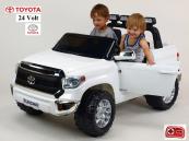 Elektrické auto Toyota Tundra - bílá