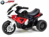 Elektrická motorka Trike BWM S1000RR - červená