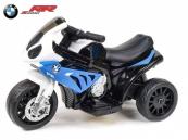 Elektrická motorka Trike BWM S1000RR - modrá