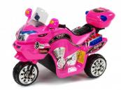 Elektrická motorka FX střední velikost růžová