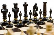 Šachy dřevěné Royal Lux