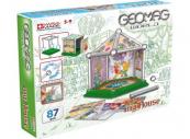 Geomag 380 Geomagworld mini house 87 dílků