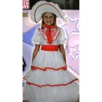 Dáma s kloboukem - dětský kostým